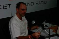 Blues stars visit 91.5 FM Studio