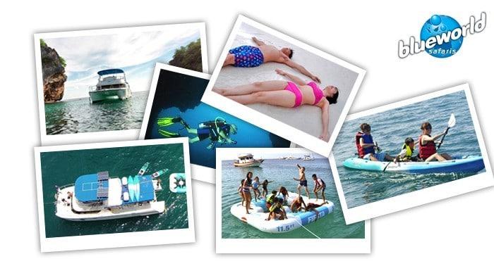 Blue World Safaris Phuket weather banner