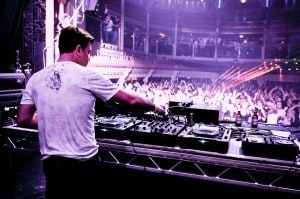Paul Oakenfold on the decks