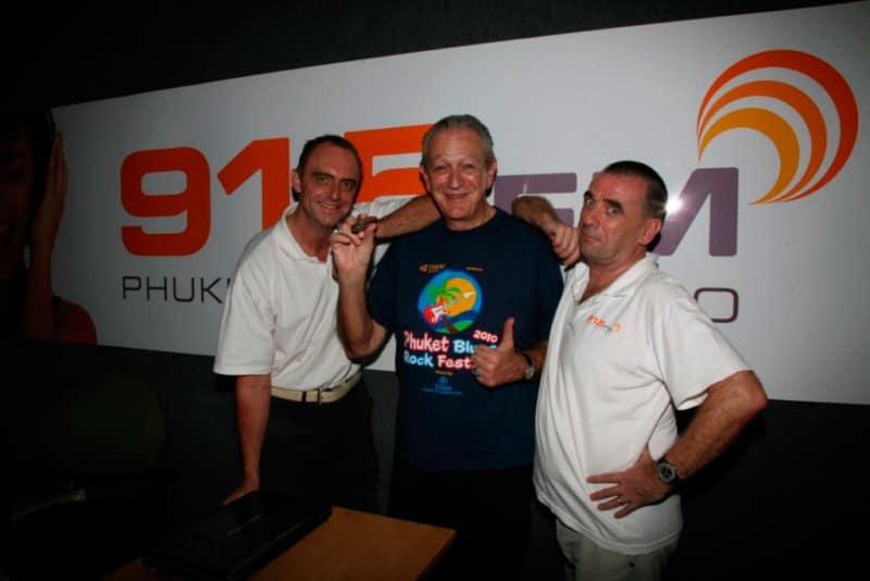 Charlie Musselwhite at 91.5 FM Radio Studio