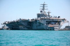 USS Nimitz welcomes Phuket Island Radio on board