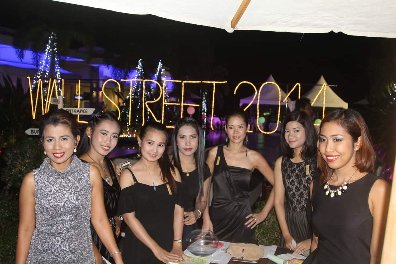 East 88 Wall Street party