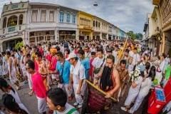 Bang Nheaw Shrine and Debuk Road, Phuket Town, Vegetarian Festival.