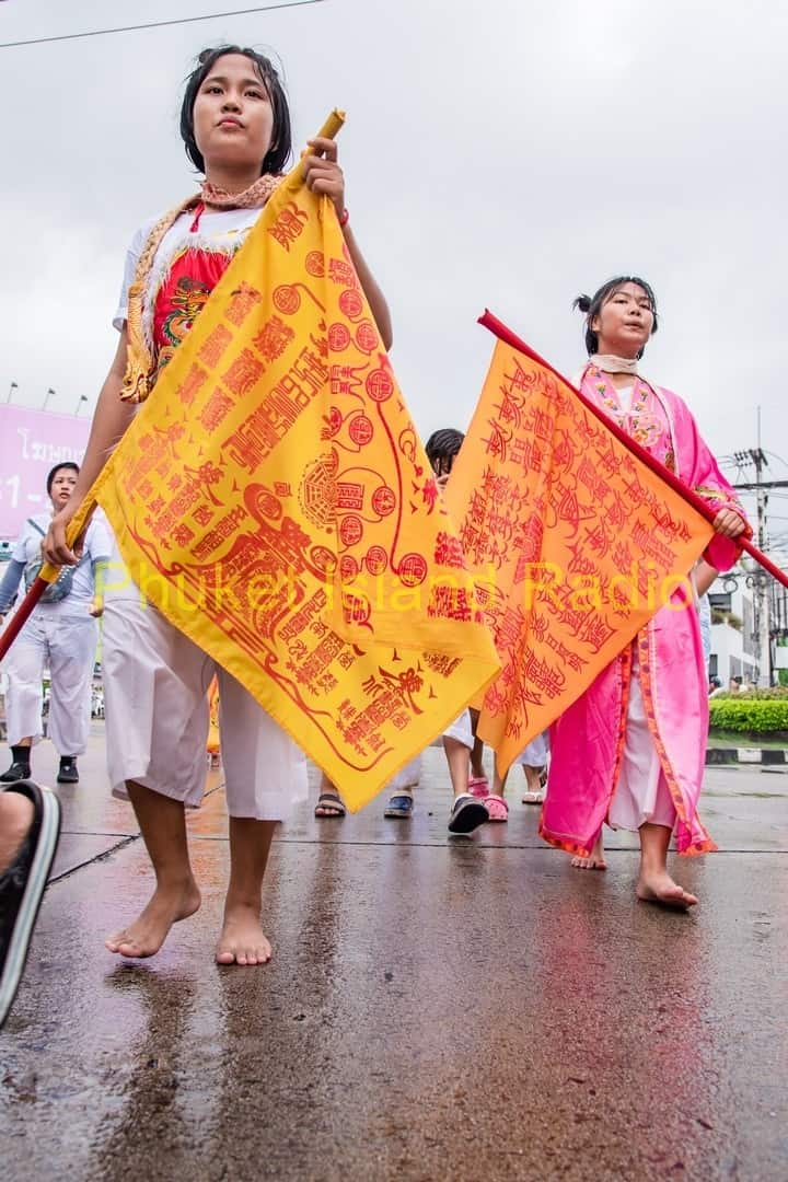 First Parade of the 2016 Phuket Vegetarian Festival
