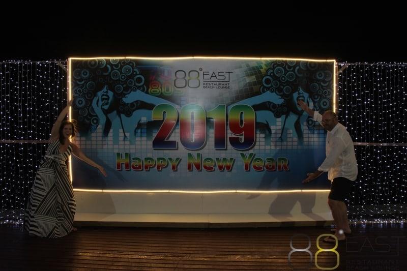 Phuket FM Radio at East 88 Restaurant & Beach Lounge NYE 2018-19  020