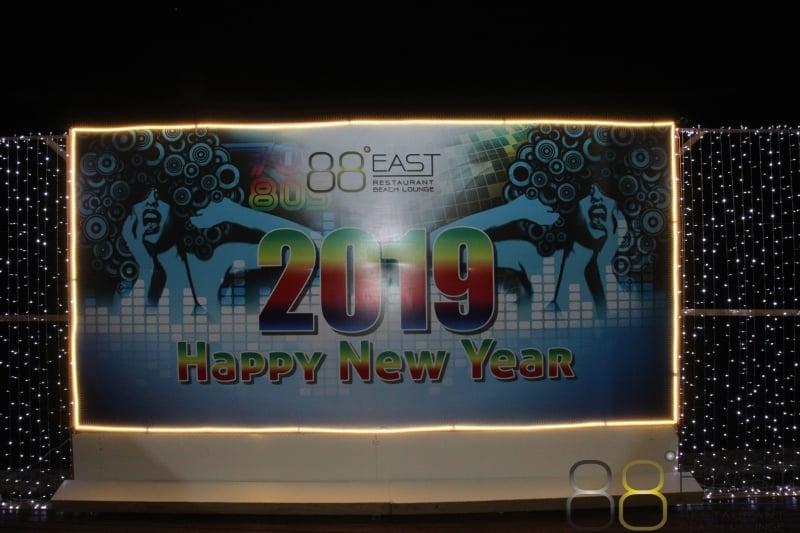 Phuket FM Radio at East 88 Restaurant & Beach Lounge NYE 2018-19  021