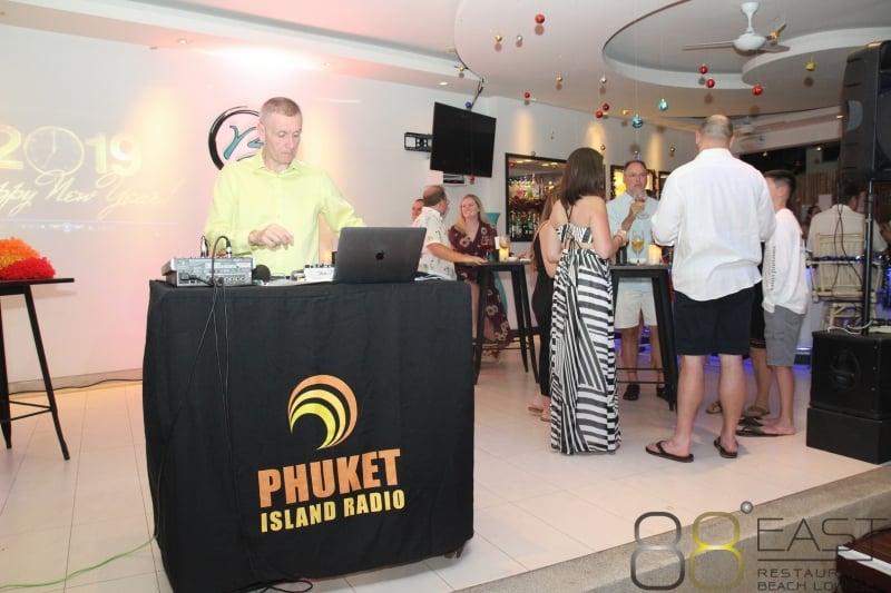 Phuket FM Radio at East 88 Restaurant & Beach Lounge NYE 2018-19  022