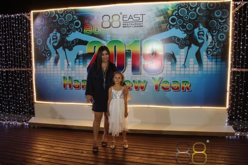 Phuket FM Radio at East 88 Restaurant & Beach Lounge NYE 2018-19  023