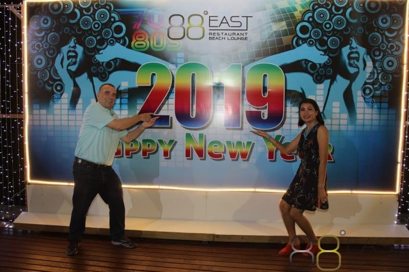 Phuket FM Radio at East 88 Restaurant & Beach Lounge NYE 2018-19  027