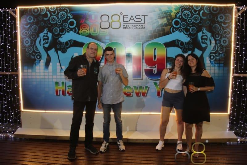 Phuket FM Radio at East 88 Restaurant & Beach Lounge NYE 2018-19  029