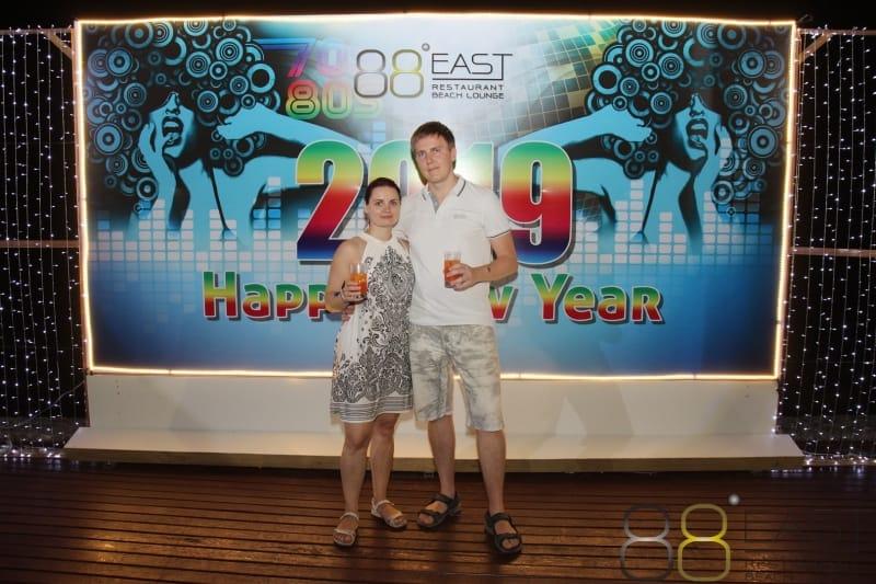 Phuket FM Radio at East 88 Restaurant & Beach Lounge NYE 2018-19  030
