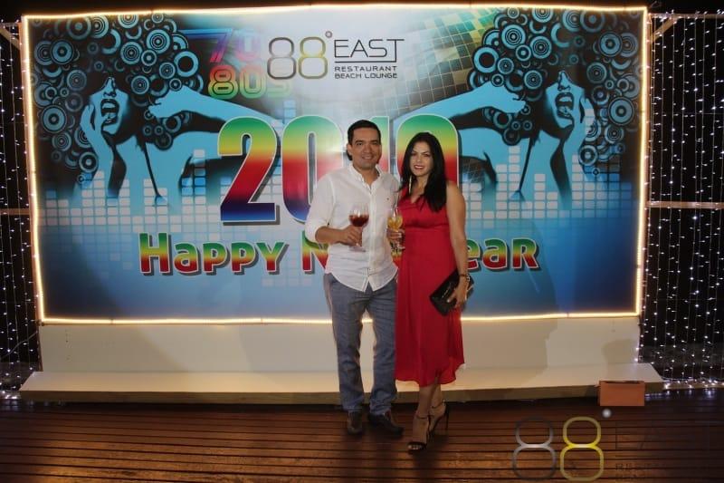 Phuket FM Radio at East 88 Restaurant & Beach Lounge NYE 2018-19  035