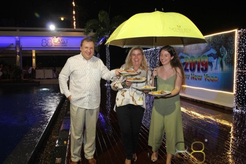 Phuket FM Radio at East 88 Restaurant & Beach Lounge NYE 2018-19  052