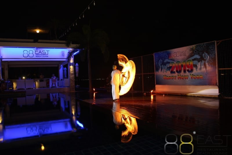 Phuket FM Radio at East 88 Restaurant & Beach Lounge NYE 2018-19  055