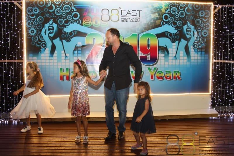 Phuket FM Radio at East 88 Restaurant & Beach Lounge NYE 2018-19  068