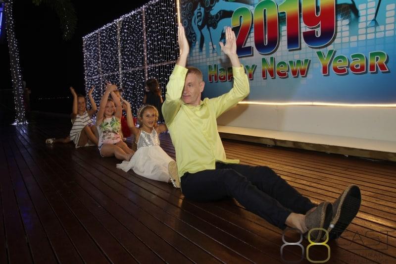 Phuket FM Radio at East 88 Restaurant & Beach Lounge NYE 2018-19  069