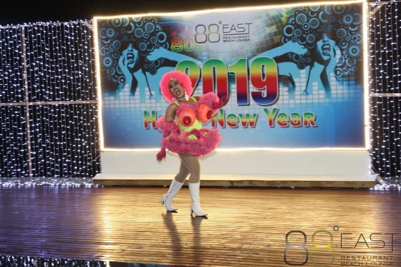 Phuket FM Radio at East 88 Restaurant & Beach Lounge NYE 2018-19  080