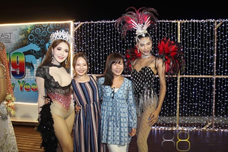 Phuket FM Radio at East 88 Restaurant & Beach Lounge NYE 2018-19  092