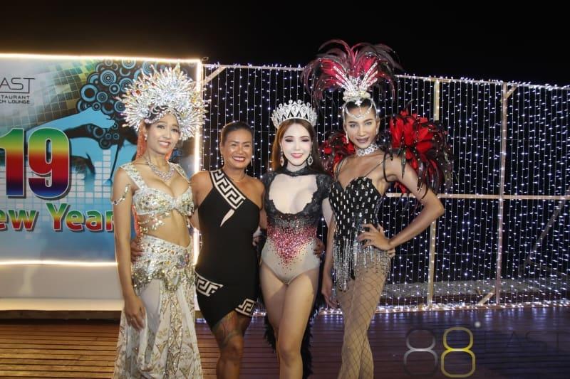 Phuket FM Radio at East 88 Restaurant & Beach Lounge NYE 2018-19  099