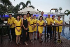 Skal International Phuket and south Thailand dinner at East 88 Restaurant and Beach Lounge