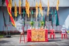 Samkong to Sahpan Hin parade at Tuesday's Phuket Vegetarian Festival