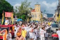 Vegetarian Festival Parade Wednesday in Phuket