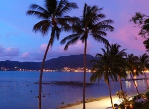 Phuket FM Radio presents Patong Beach at night