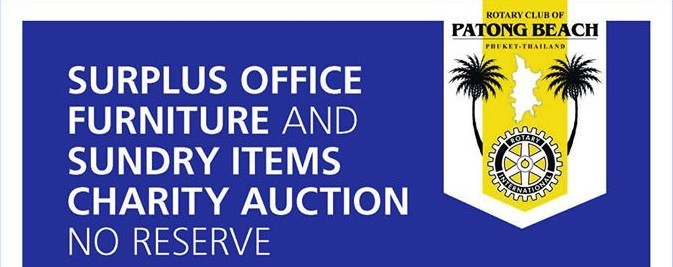 A Patong Beach Charity Auction