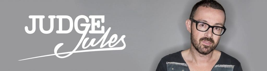 Judge Jules banner and picture