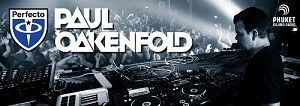 Paul Oakenfold, Planet Perfecto banner on Phuket FM Radio