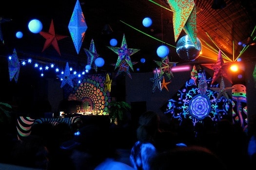 Electronic Dance Music in Goa trance scene