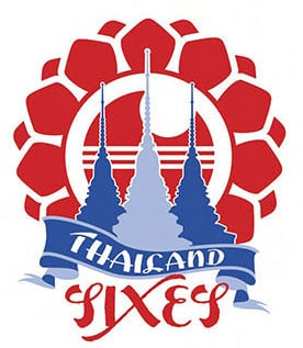 Thailand International Cricket Sixes logo