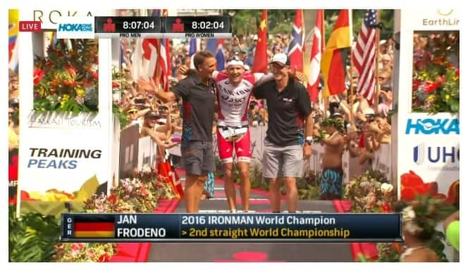 Jan Frodeno Ironman World Champion