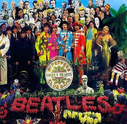 The Beatles classic album Sgt Peppers Lonely Hearts Club Band