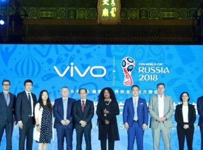 FIFA signs US$450m deal with Chinese brand Vivo