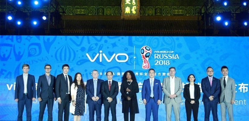 FIFA , signs US$450m deal with Chinese smartphone brand Vivo
