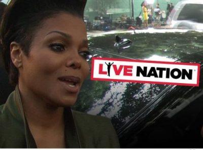Janet Jackson - Tour Refunds - TMZ reporting
