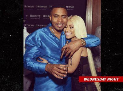 Nicki Minaj and Nas Are Busy as a Couple