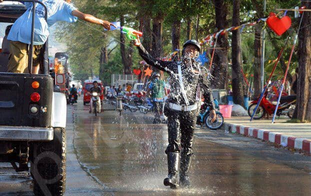 Songkran Phuket Events and Festivals