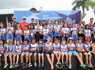 Perfect Phuket Weather for 2017 Ironkids Thailand