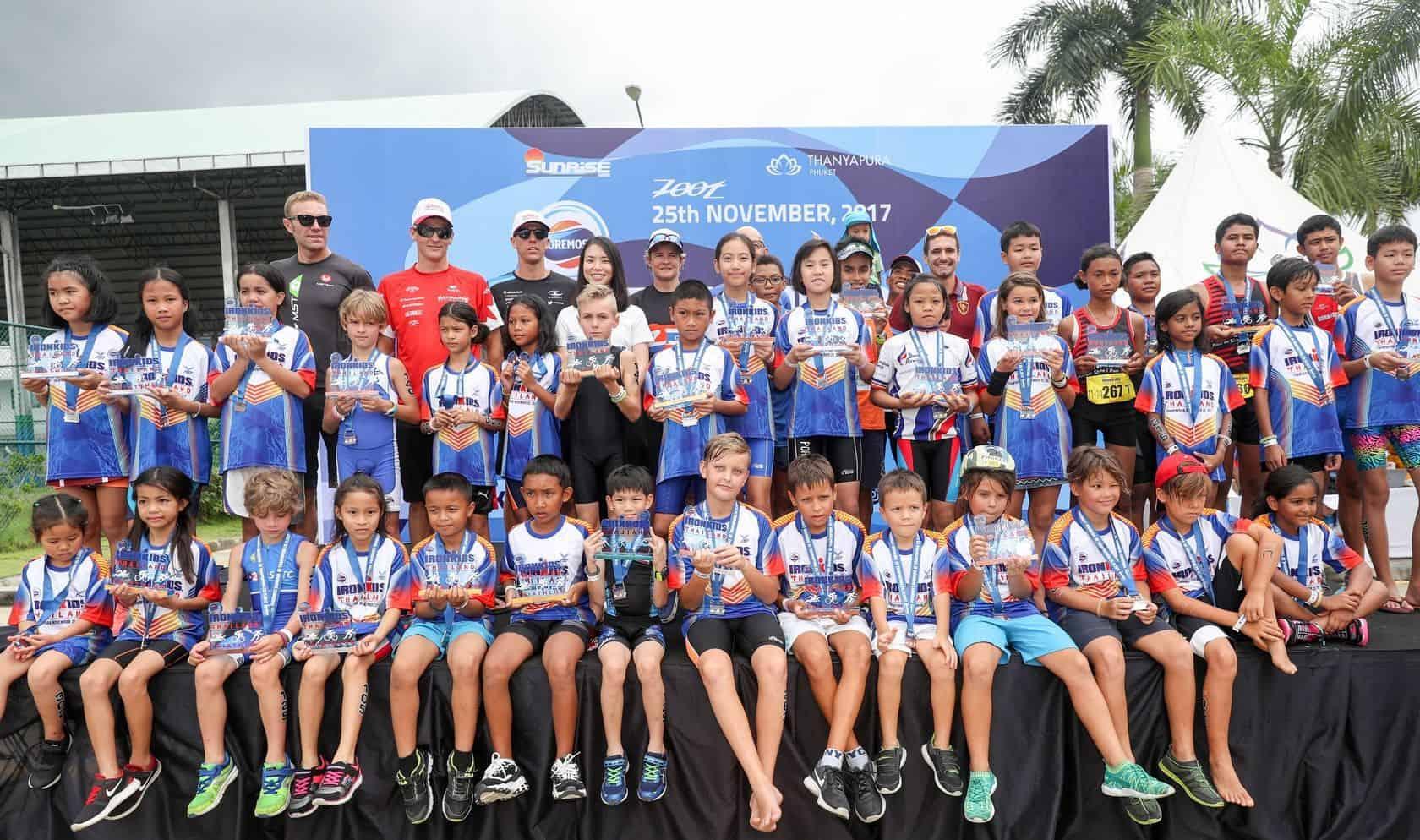 Ironkids Thailand winners