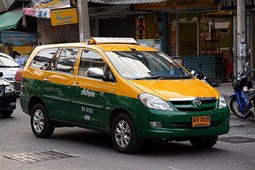 Grab Taxi Phuket