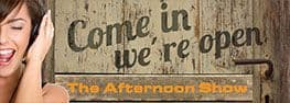 The Afternoon Show on web banner