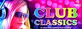 Club Classics banner on Phuket FM Radio