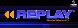 Replay 80's and 90's radio show banner picture