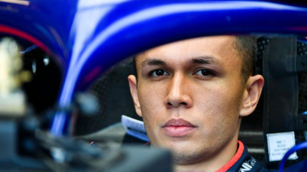 Alex Albon Thailand F1