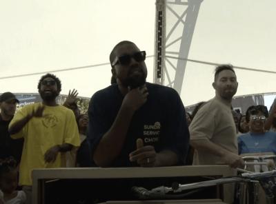 Kanye West and a Sunday Service in Dayton, Ohio