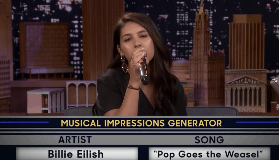 Alessia Cara Mimics Billie Eilish on 'Fallon'