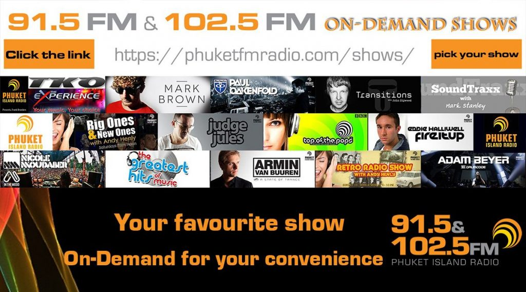 On Demand Radio shows from 91.5 FM and 102.5 FM