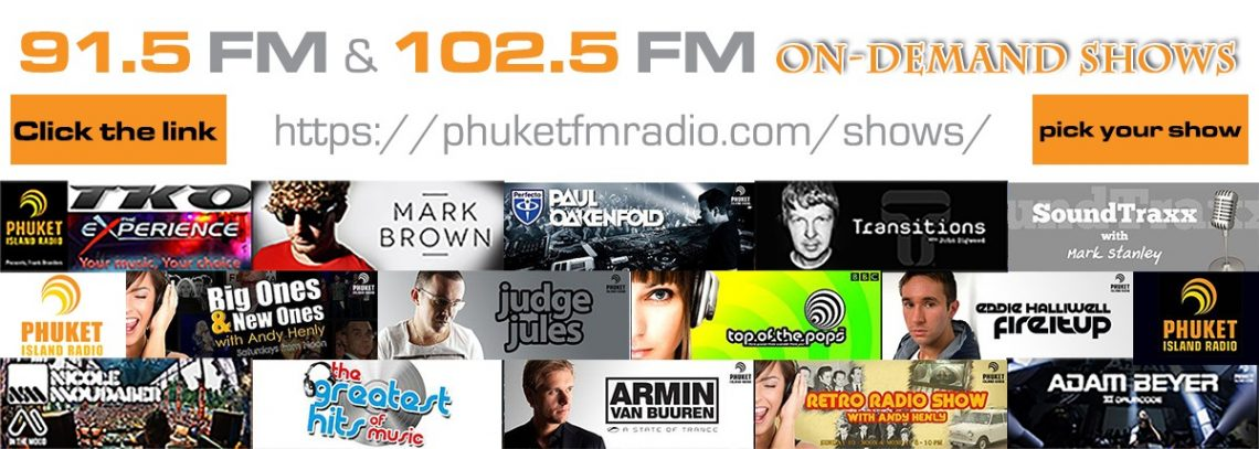 ondemand radio shows from 91.5 FM and 102.5 FM